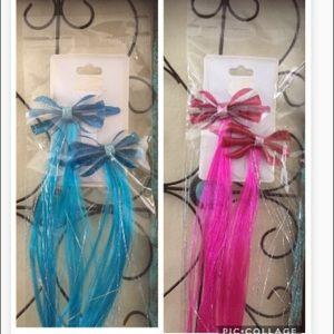 Bundle Lot Bow Hair Clips Sets